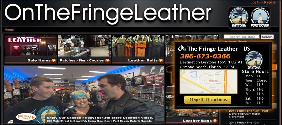 On The Fringe Leather
